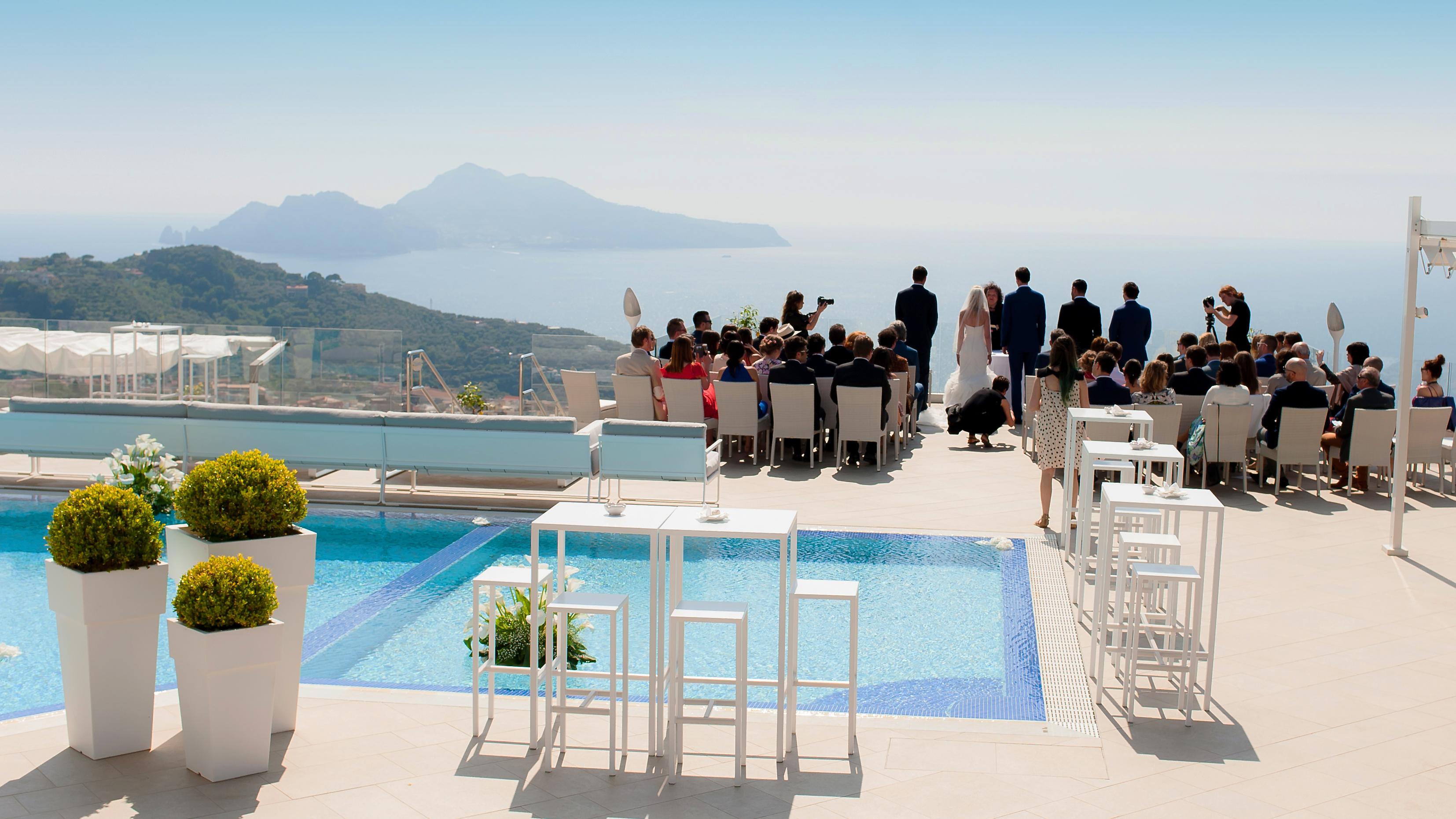 Ceremony Panorama Amalfi Coast