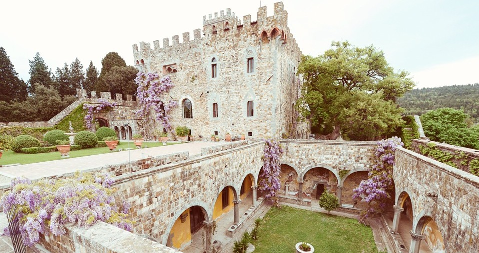 Castle by Italian Wedding Designer