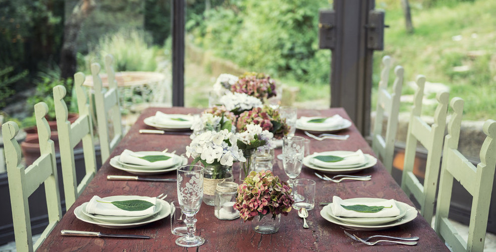 Rustic Table Setting from Italian Wedding Designer