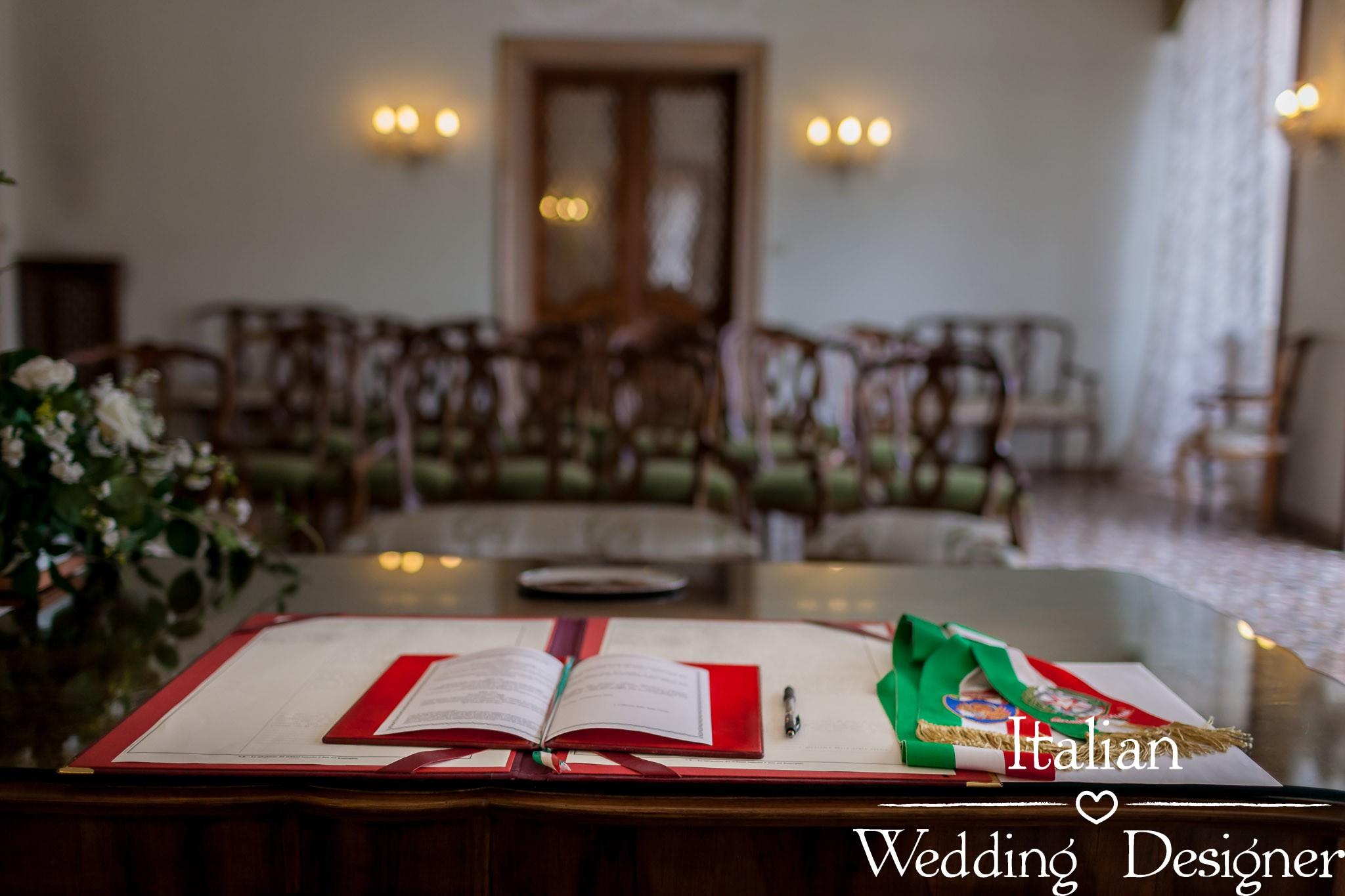 Civil Wedding ceremony in Venice