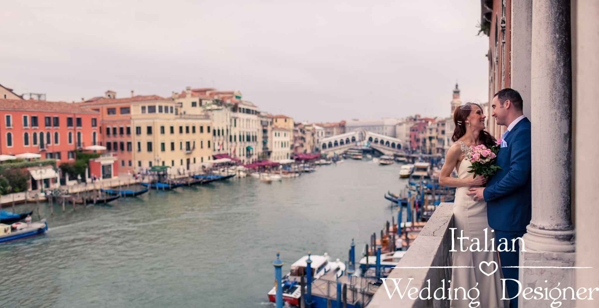 Canal Grande, Wedding in Venice - Italian Wedding Designer
