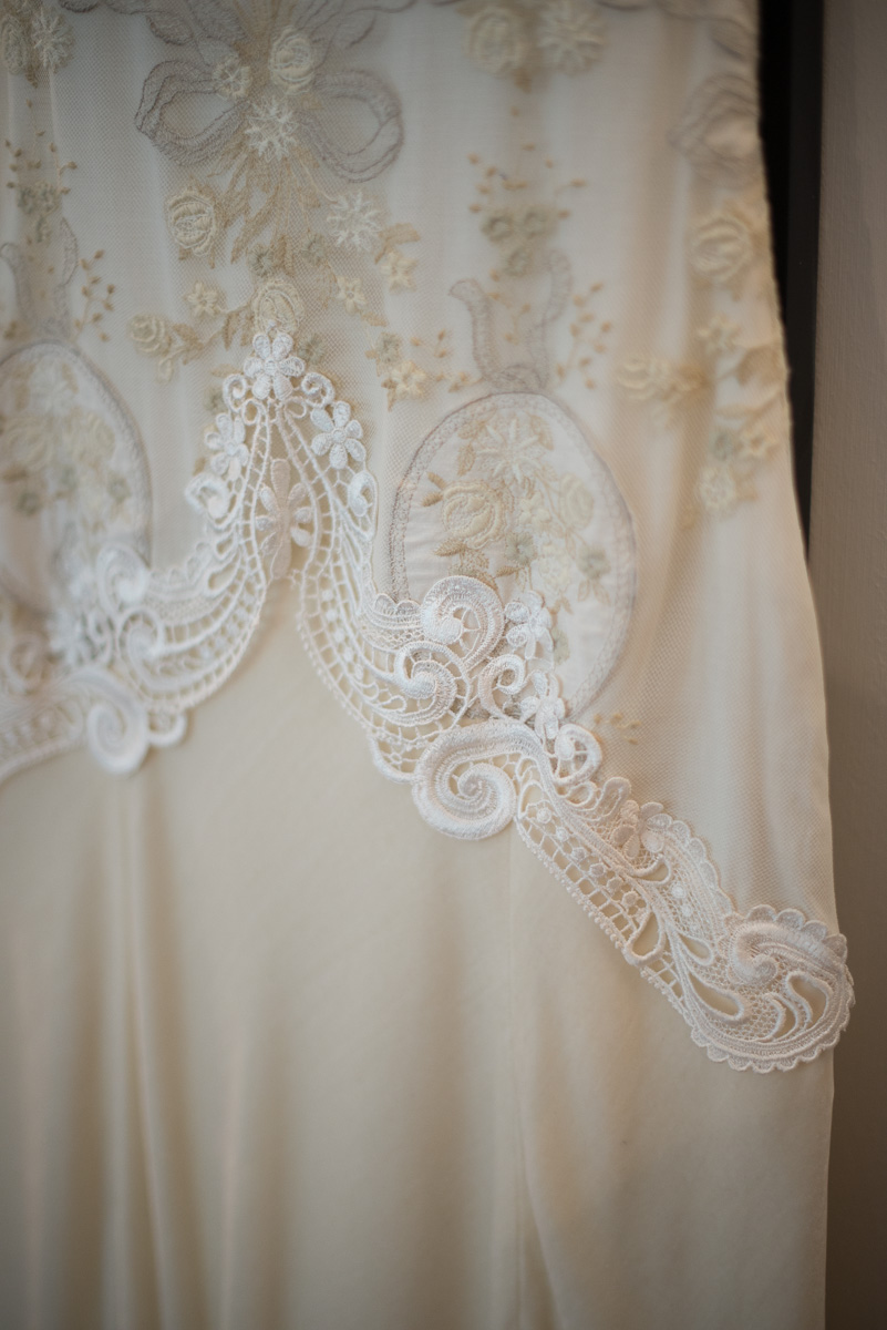 Bridal Gown, country chic wedding in Italy