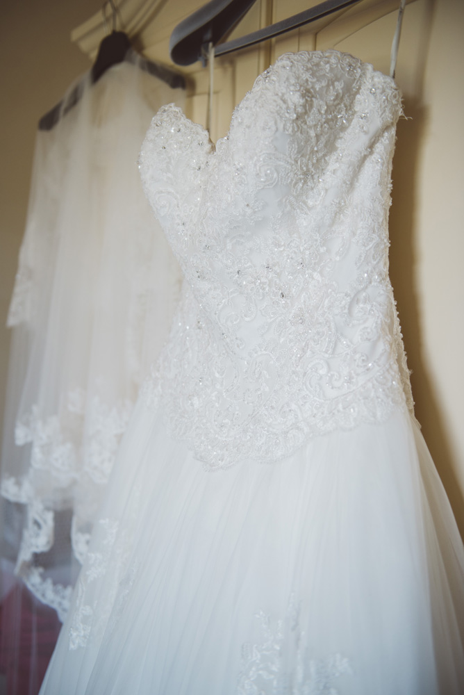 Bridal Gown , countryside wedding in Tuscany.