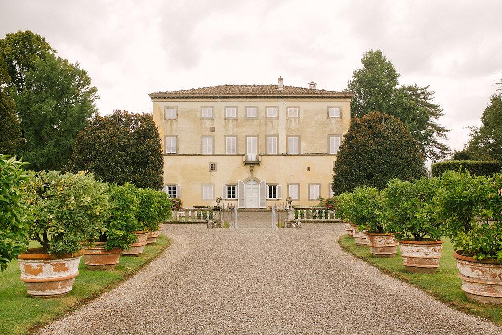 Villa Grabau, destination wedding in Tuscany