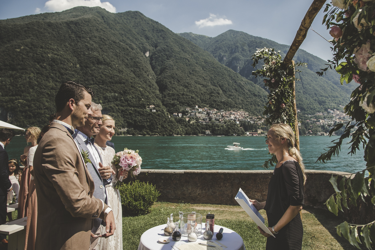 Symbolic Ceremony at Villa Regina Teodolinda A destination wedding in Lake Como