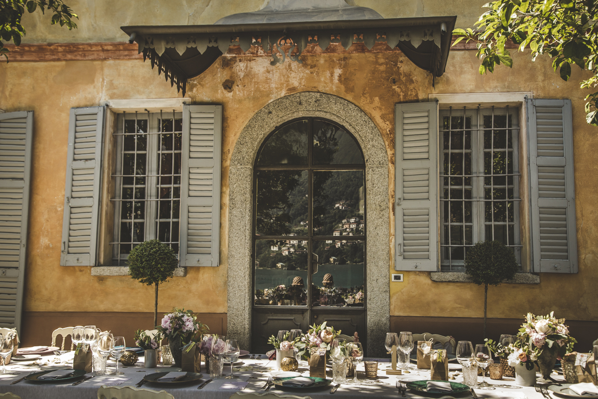 Villa Regina Teodolinda - A destination wedding in Italy - Italian Wedding Designer