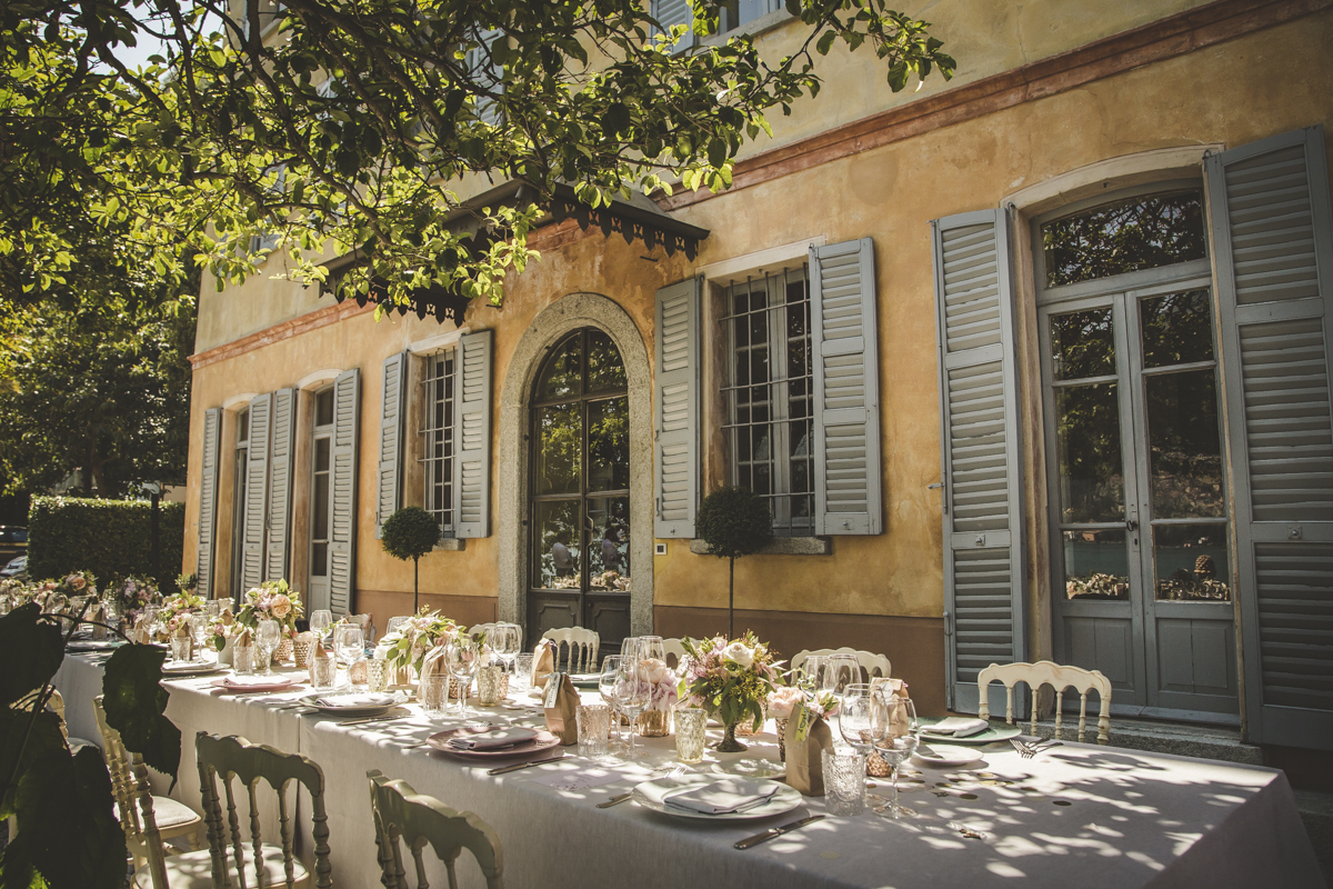 Dinner at Villa Regina Teodolinda - A destination wedding in Italy - Italian Wedding Designer
