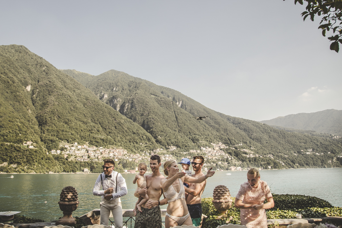 A destination wedding at Villa Regina Teodolinda