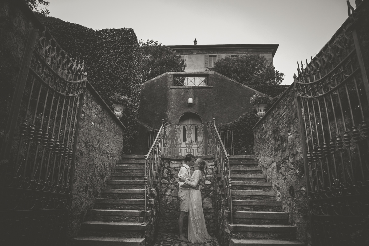 newlyweds photo Destination wedding in Italy - Italian Wedding Designer