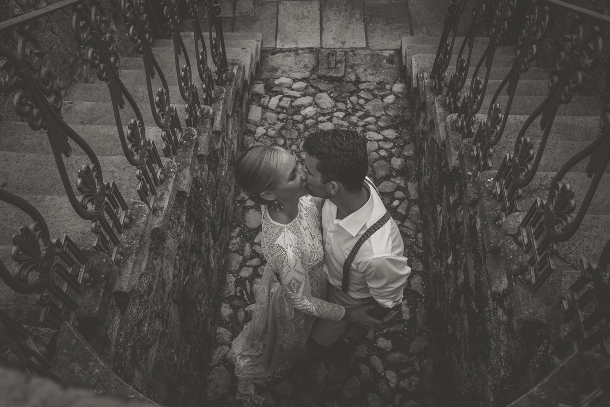 newlyweds portrait Destination wedding in Italy - Italian Wedding Designer