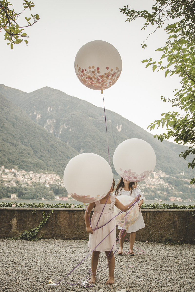 Wedding guests at Villa Regina Teodolinda A destination wedding in Lake Como