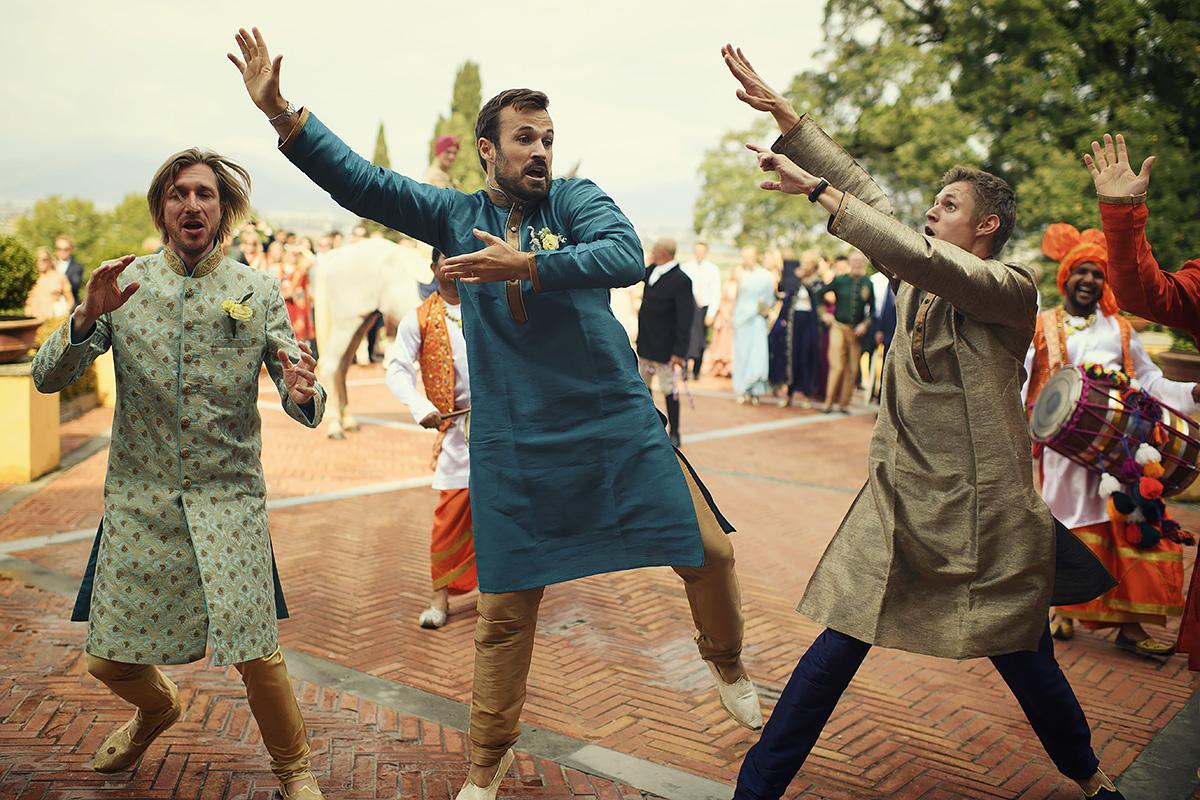 Baraat in Italy - Punjabi Ceremony - Italian Wedding Designer