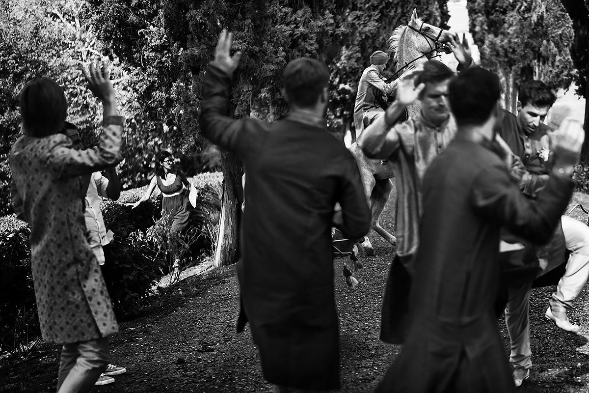 Baraat in tuscany - Sikh wedding - Italian Wedding Designer