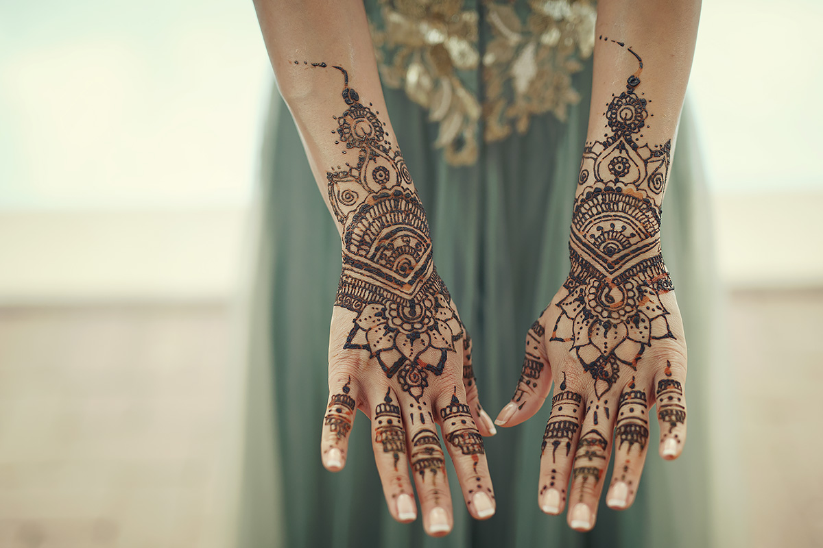 Bridal Mehndi - Indian Wedding in Italy - Italian Wedding Designer