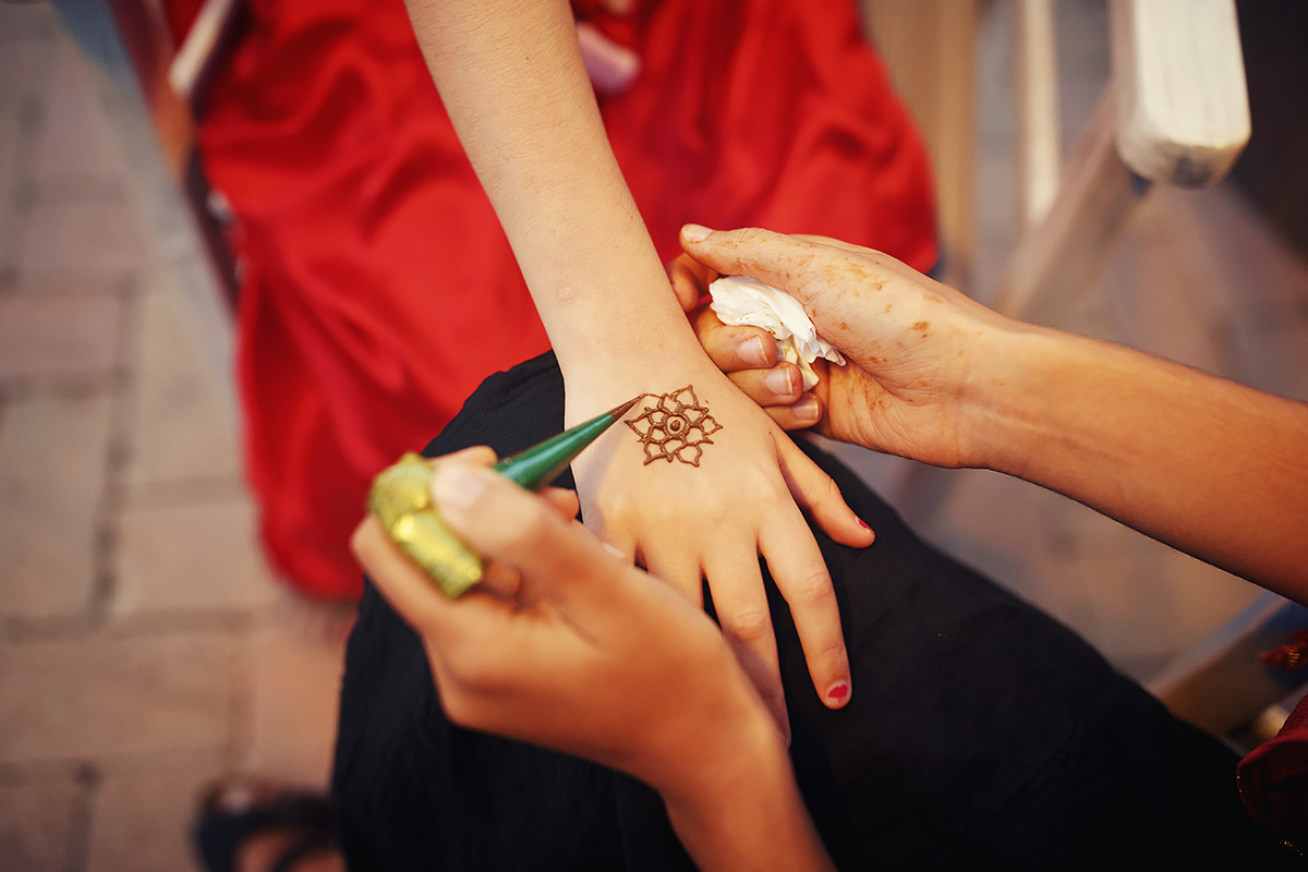 Mehendi - Indian Wedding in Tuscany - Italian Wedding Designer