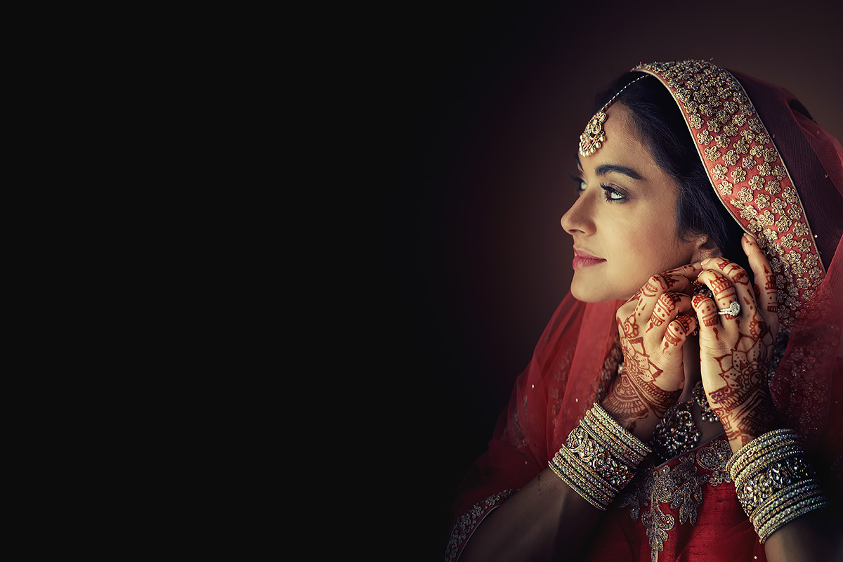 Beautiful sikh bride in Italy - Italian Wedding Designer