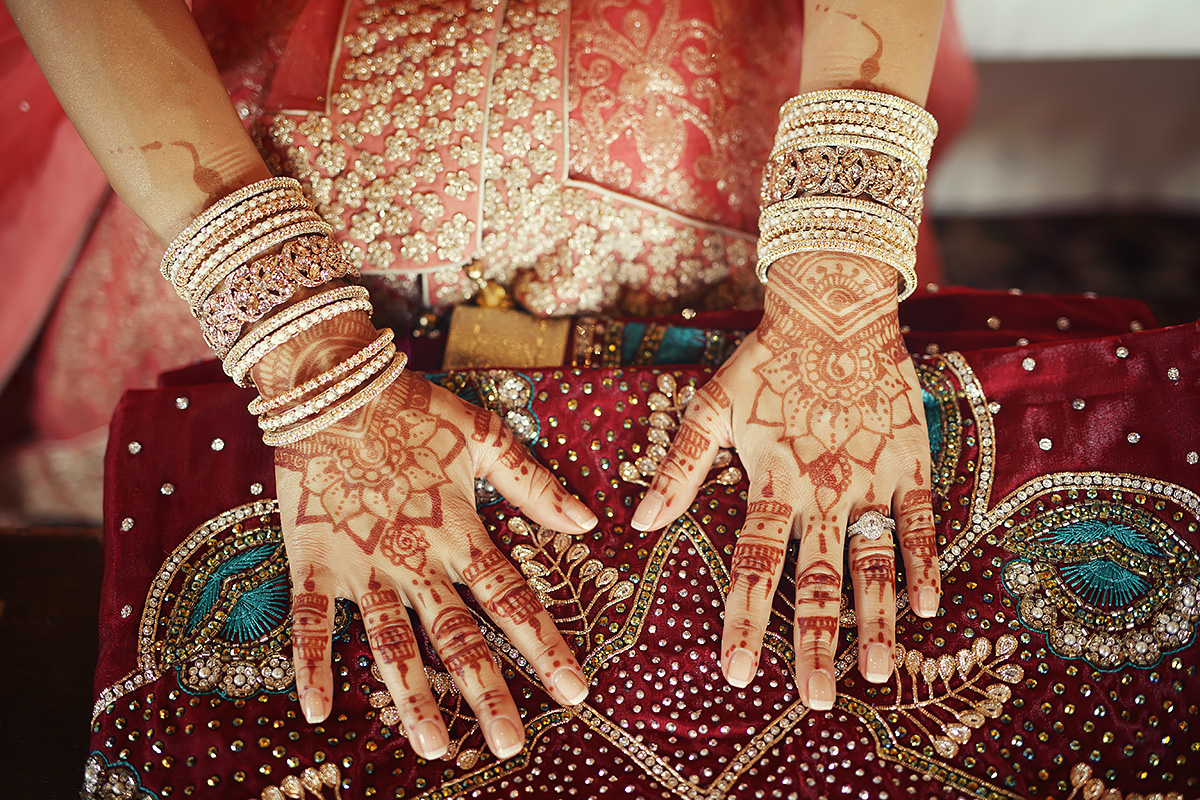 Bridal Mehndi - Italian Wedding Designer