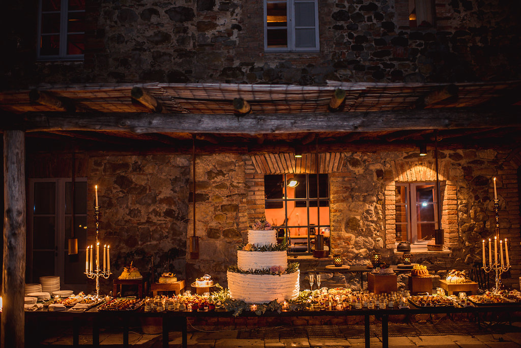 Dessert table - Wedding in Tuscany - Italian Wedding Designer