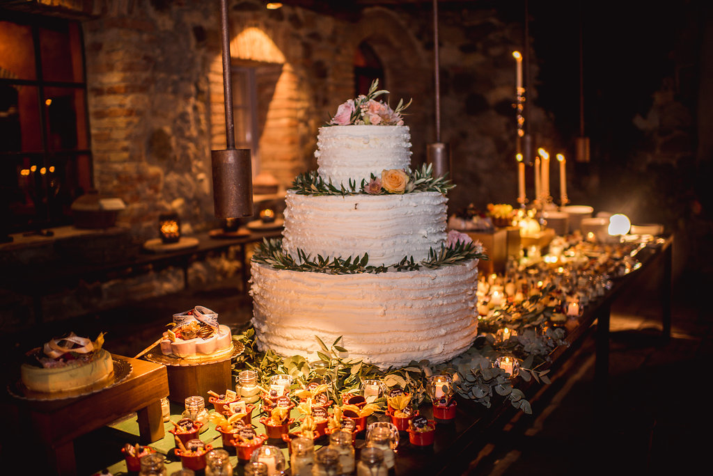 Wedding Cake - Wedding in Tuscany - Italian Wedding Designer