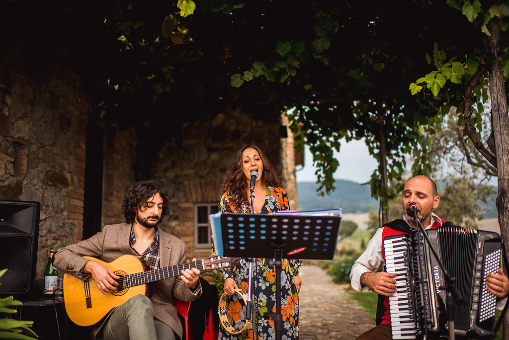 Italian Folk Trio - Wedding in Tuscany - Italian Wedding Designer