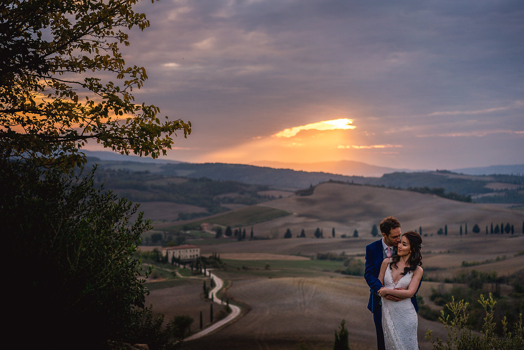 Newlyweds portrait - Wedding in Tuscany - Italian Wedding Designer