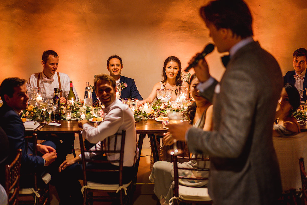 Speeches - Wedding in Tuscany - Italian Wedding Designer