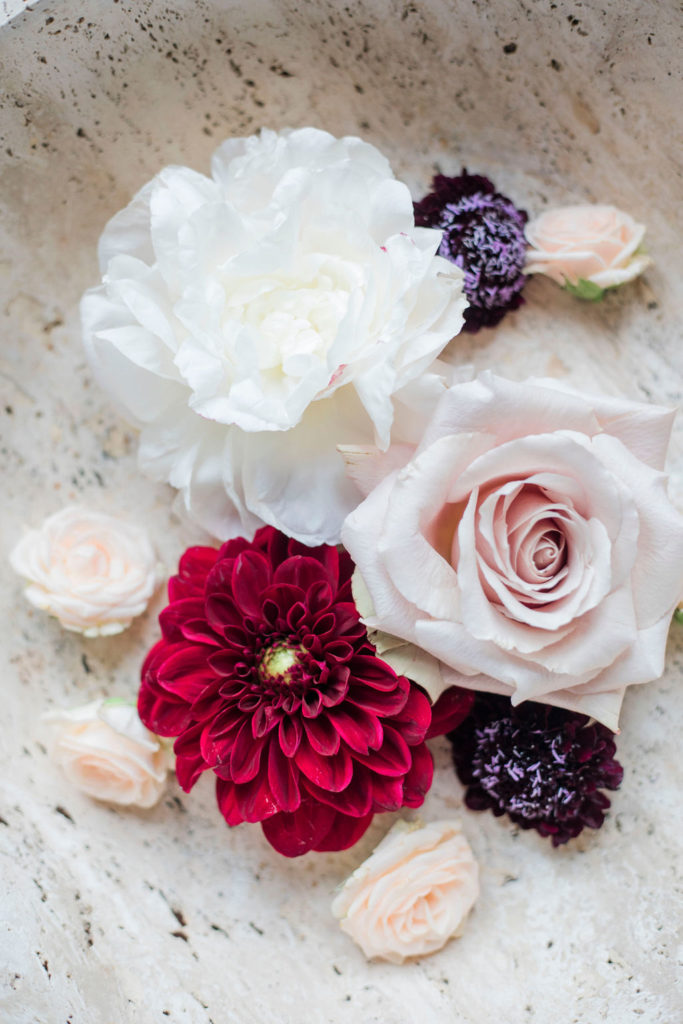 Floral Details - Wedding at Villa La Foce - Italian Wedding Designer