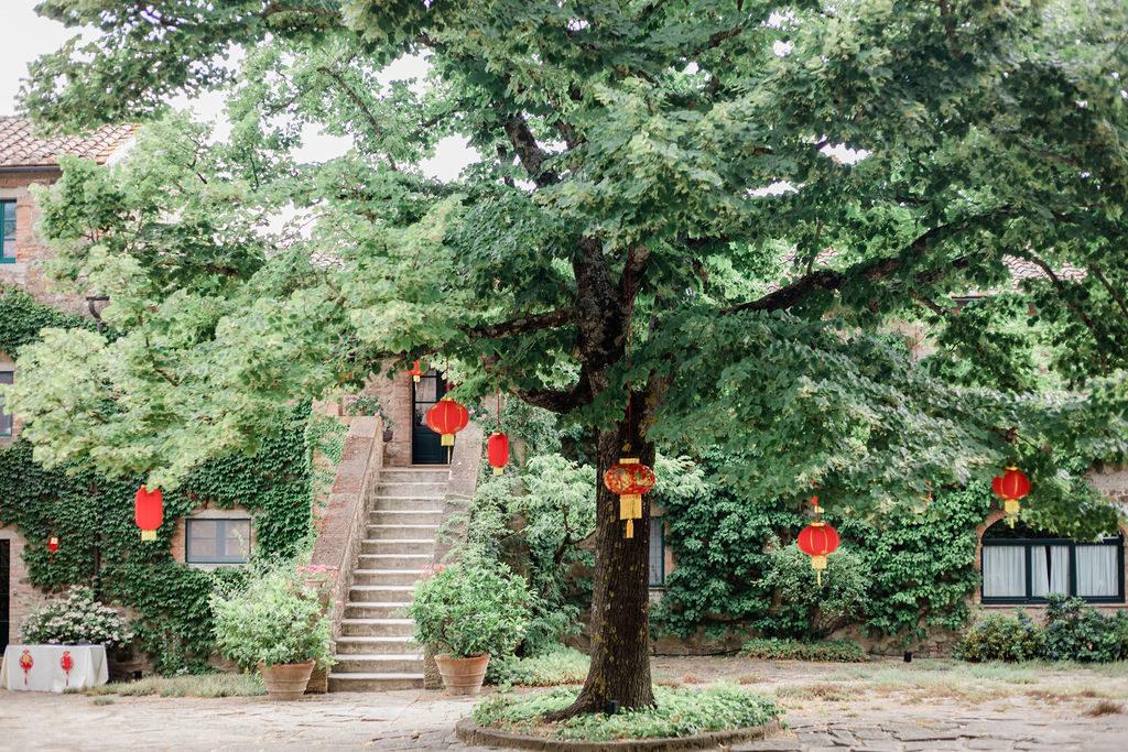 Chinese Lanterns - Chinese Tea Ceremony in Italy- Italian Wedding Designer