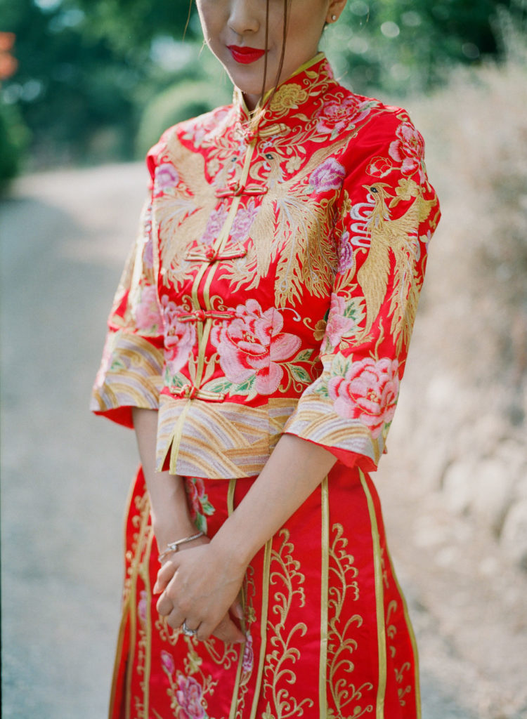 Traditional Chinese dress - Chinese Tea Ceremony in Italy- Italian Wedding Designer