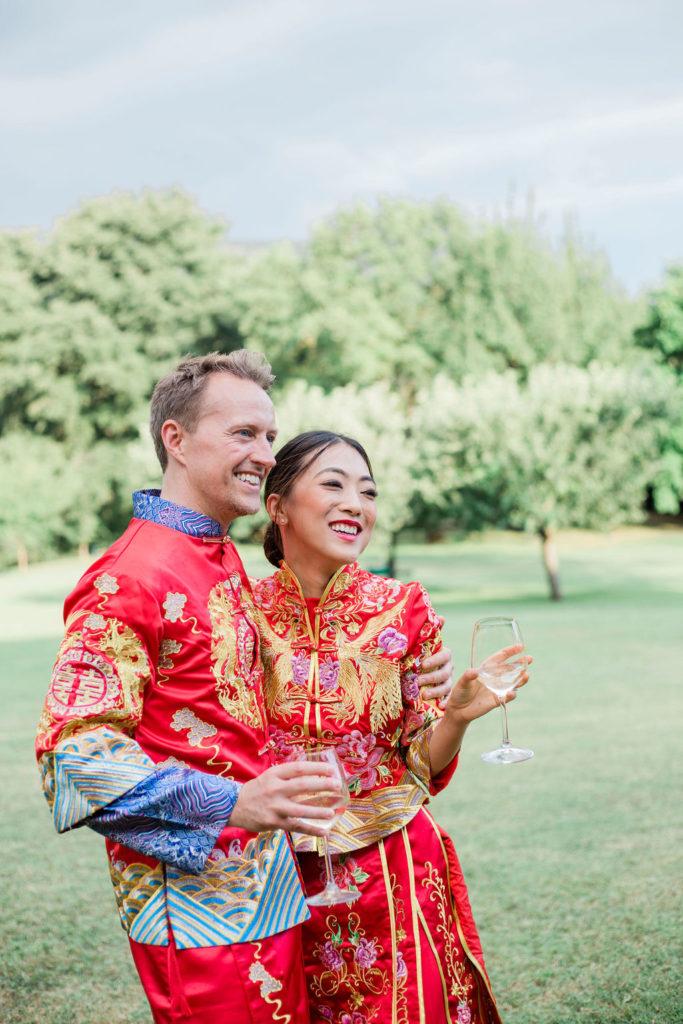 Best couple's photo - Chinese Tea Ceremony in Italy- Italian Wedding Designer