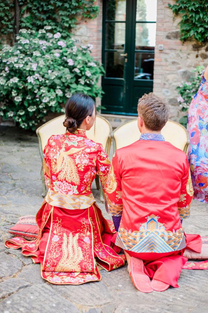 Tea ceremony equipment - Chinese Tea Ceremony in Italy- Italian Wedding Designer