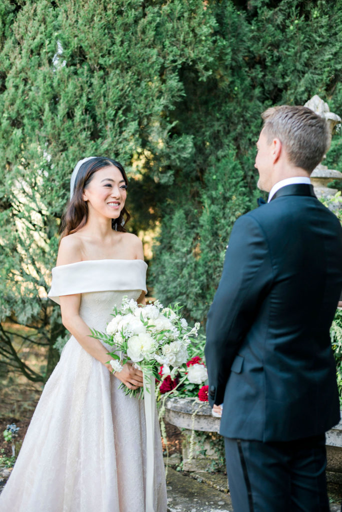 Symbolic Ceremony - Wedding at Villa La Foce - Italian Wedding Designer