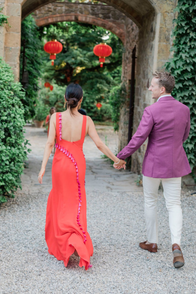 Bride & Groom perfect outfit - Chinese Tea Ceremony in Italy- Italian Wedding Designer