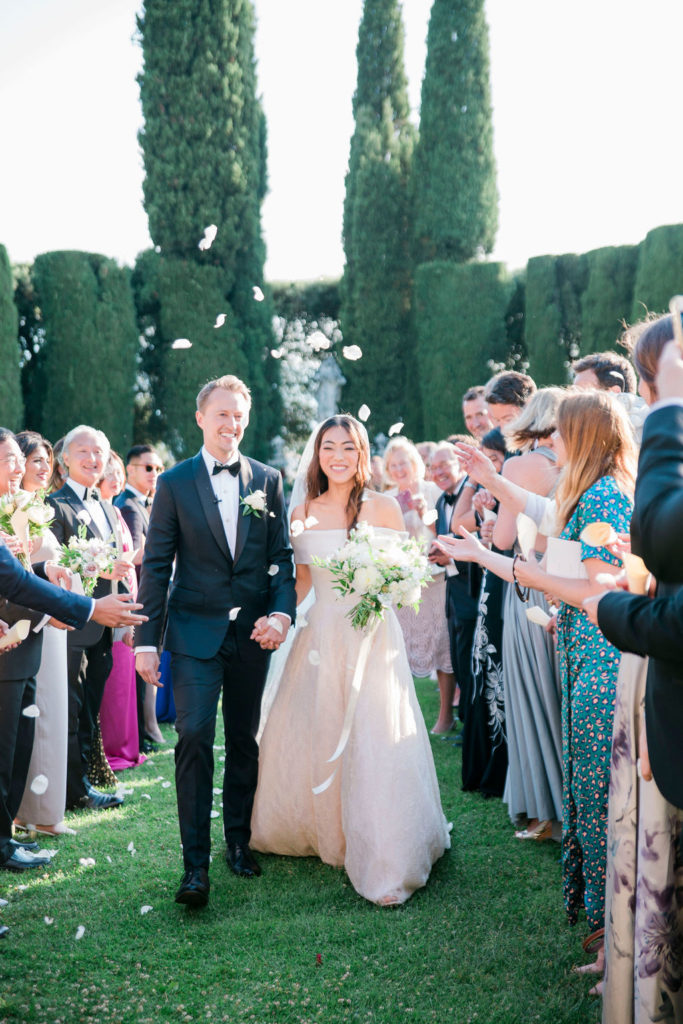 Petals - Wedding at Villa La Foce - Italian Wedding Designer
