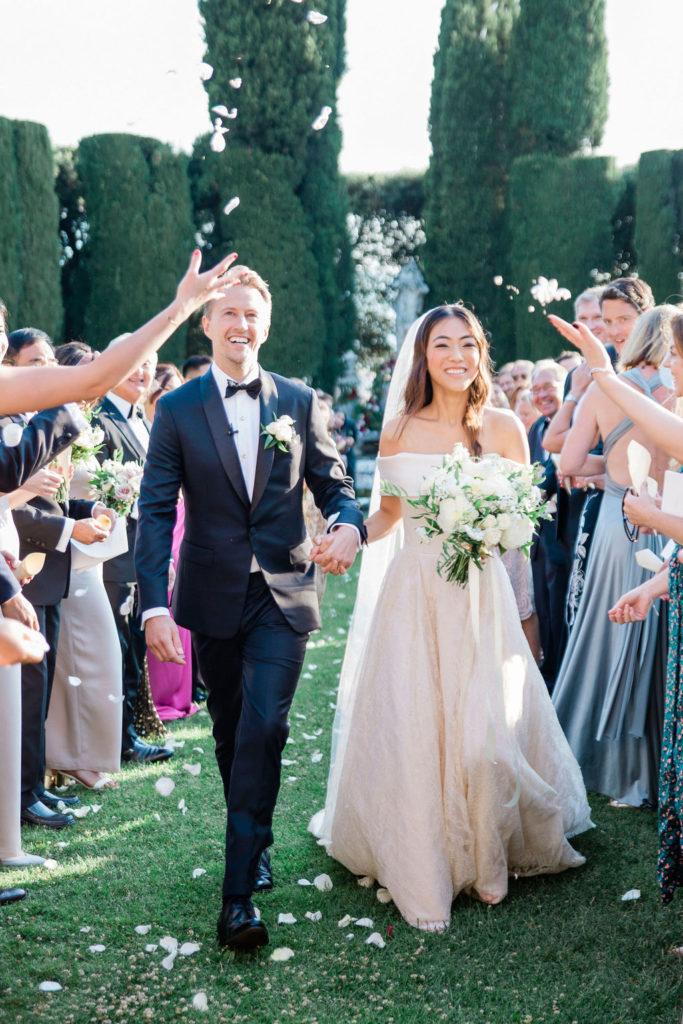 Recessional - Wedding at Villa La Foce - Italian Wedding Designer