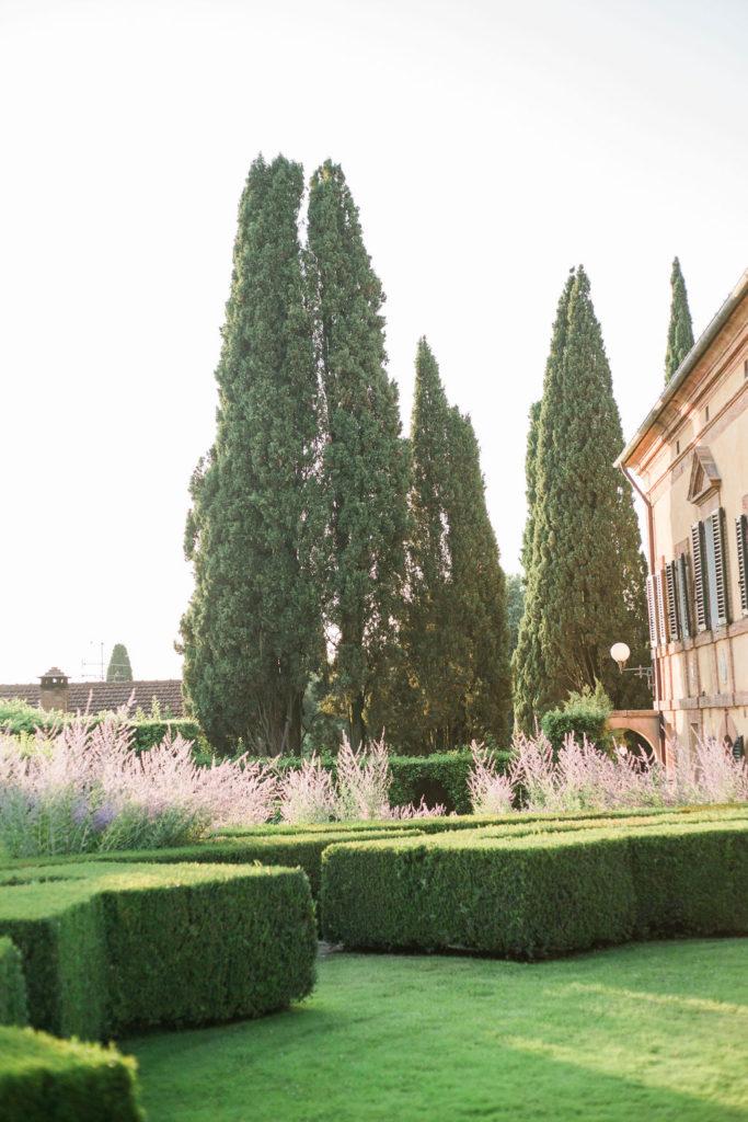 Sunset light - Wedding at Villa La Foce - Italian Wedding Designer