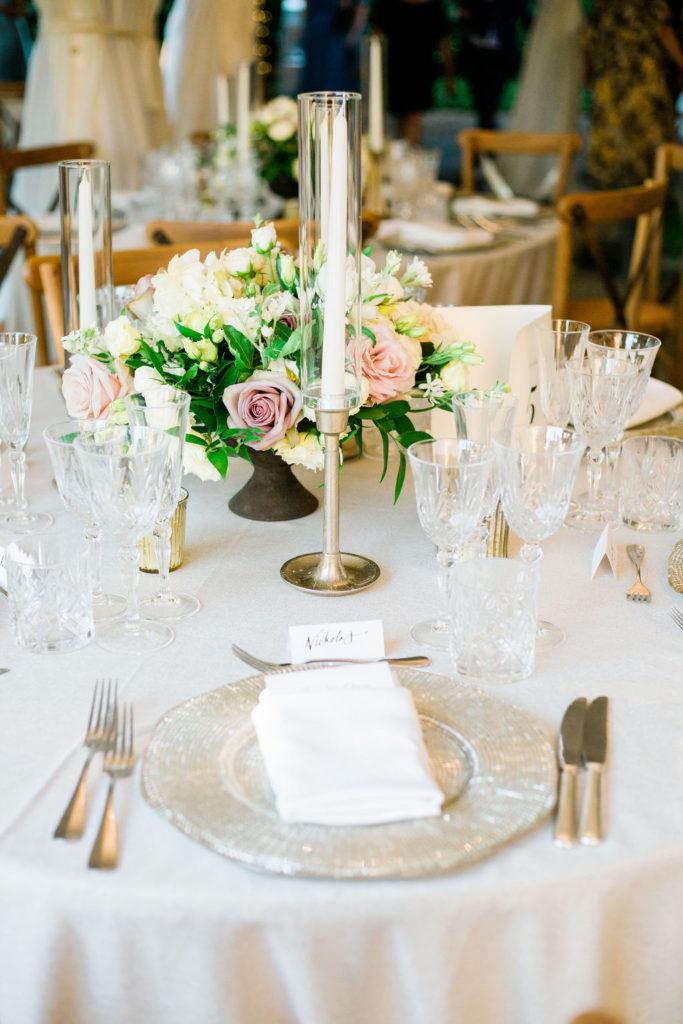Dinner Table - Wedding at Villa La Foce - Italian Wedding Designer