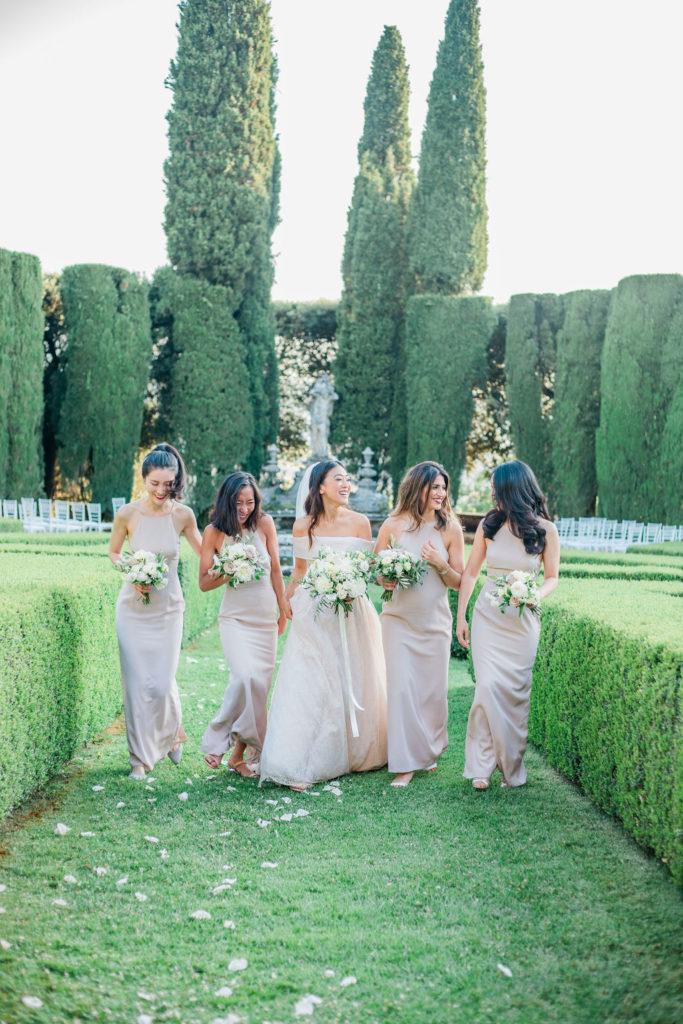 Group photos - Wedding at Villa La Foce - Italian Wedding Designer