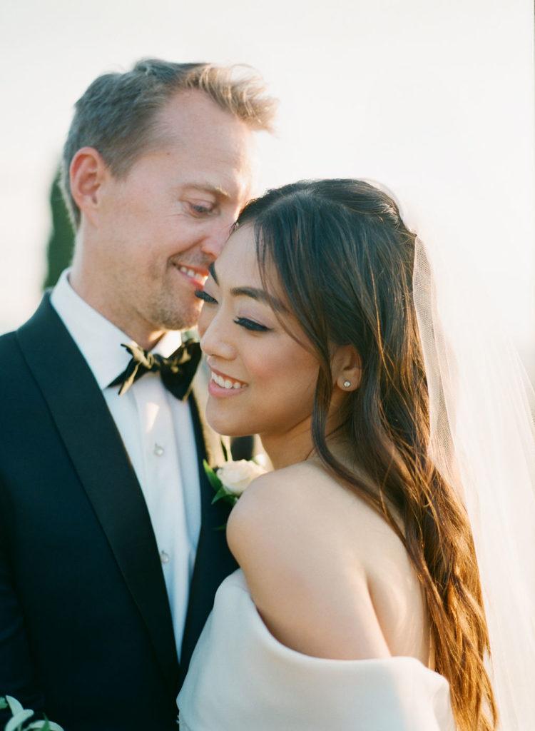 Newlyweds photo - Wedding at Villa La Foce - Italian Wedding Designer
