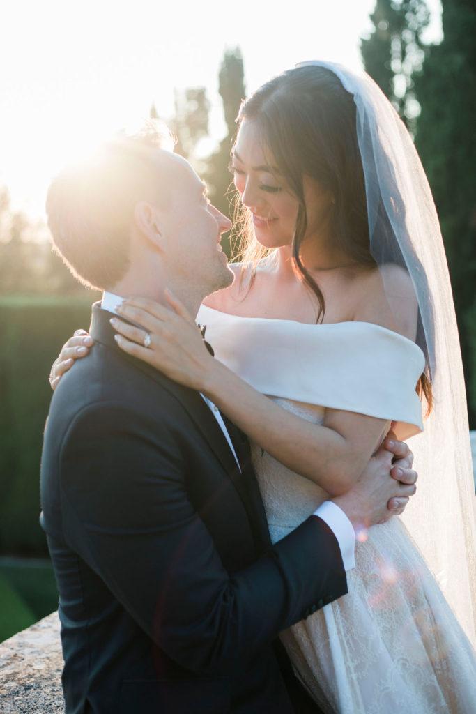 wedding portrait - Wedding at Villa La Foce - Italian Wedding Designer