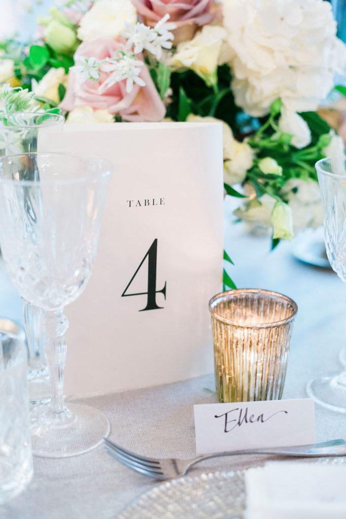 Table name - Wedding at Villa La Foce - Italian Wedding Designer