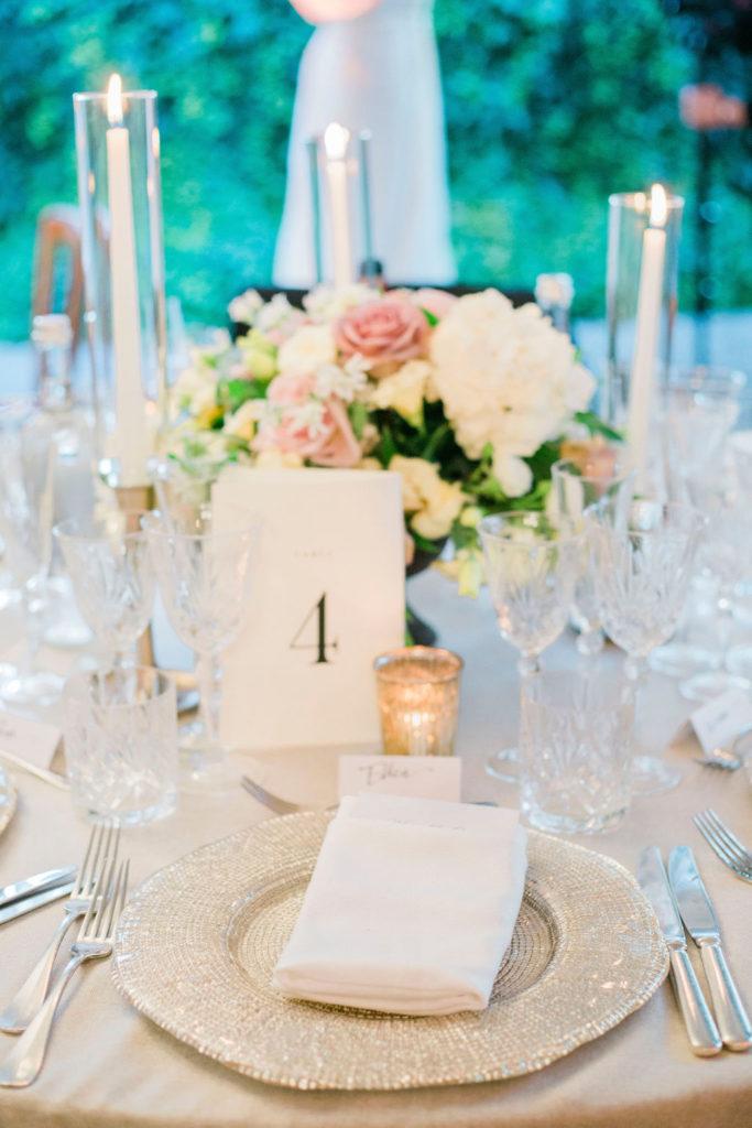 Mise en place - Wedding at Villa La Foce - Italian Wedding Designer