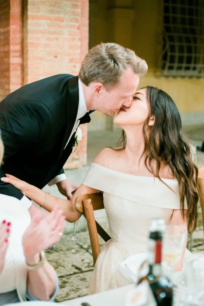 Top Table - Wedding at Villa La Foce - Italian Wedding Designer
