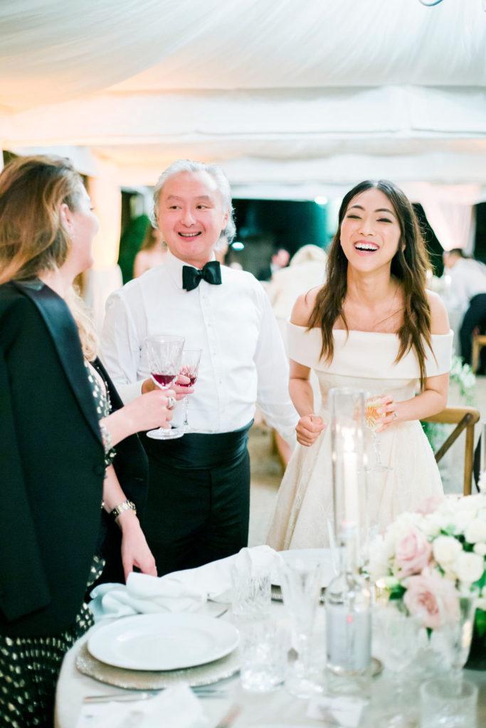 Wedding guests - Wedding at Villa La Foce - Italian Wedding Designer