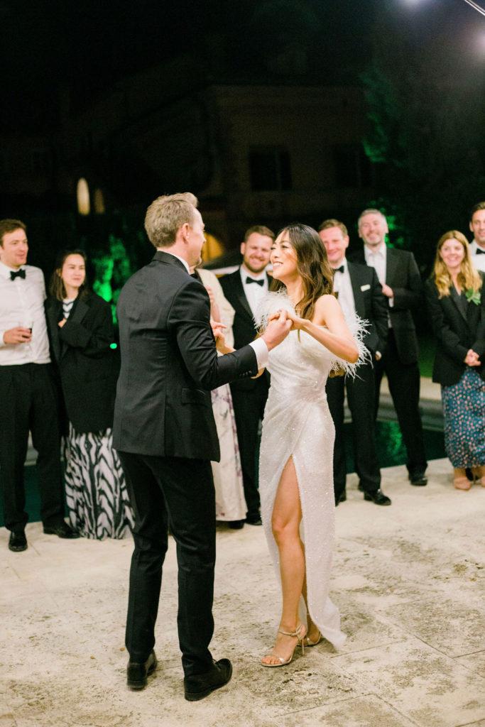 First Dance - Wedding at Villa La Foce - Italian Wedding Designer