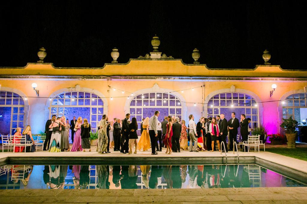 Dancing time - Wedding at Villa La Foce - Italian Wedding Designer