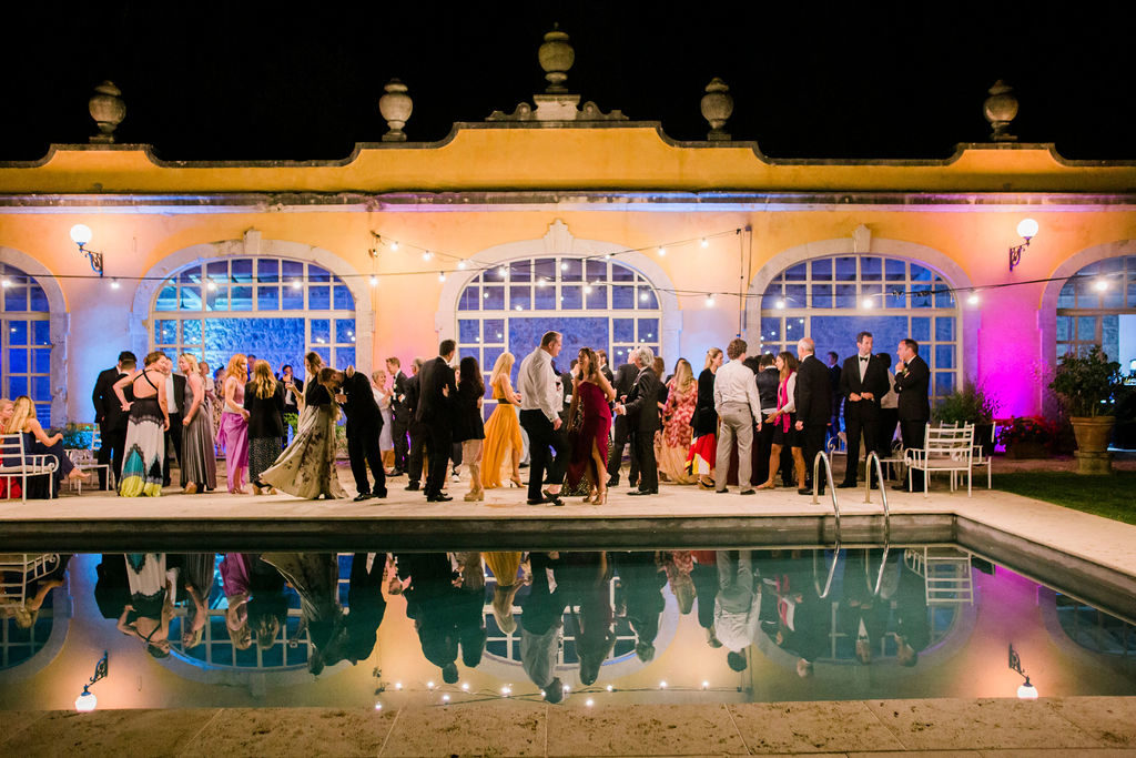 Pool Party - Wedding at Villa La Foce - Italian Wedding Designer