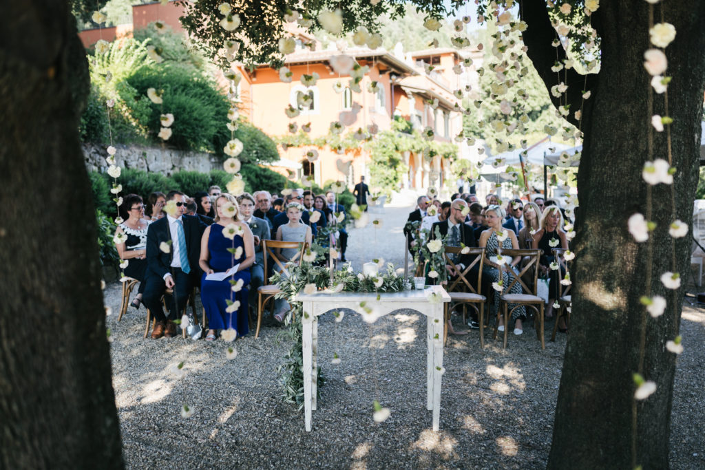 Ceremony at Villa Le Fontanelle - Wedding at Villa Le Fontanelle - Italian Wedding Designer
