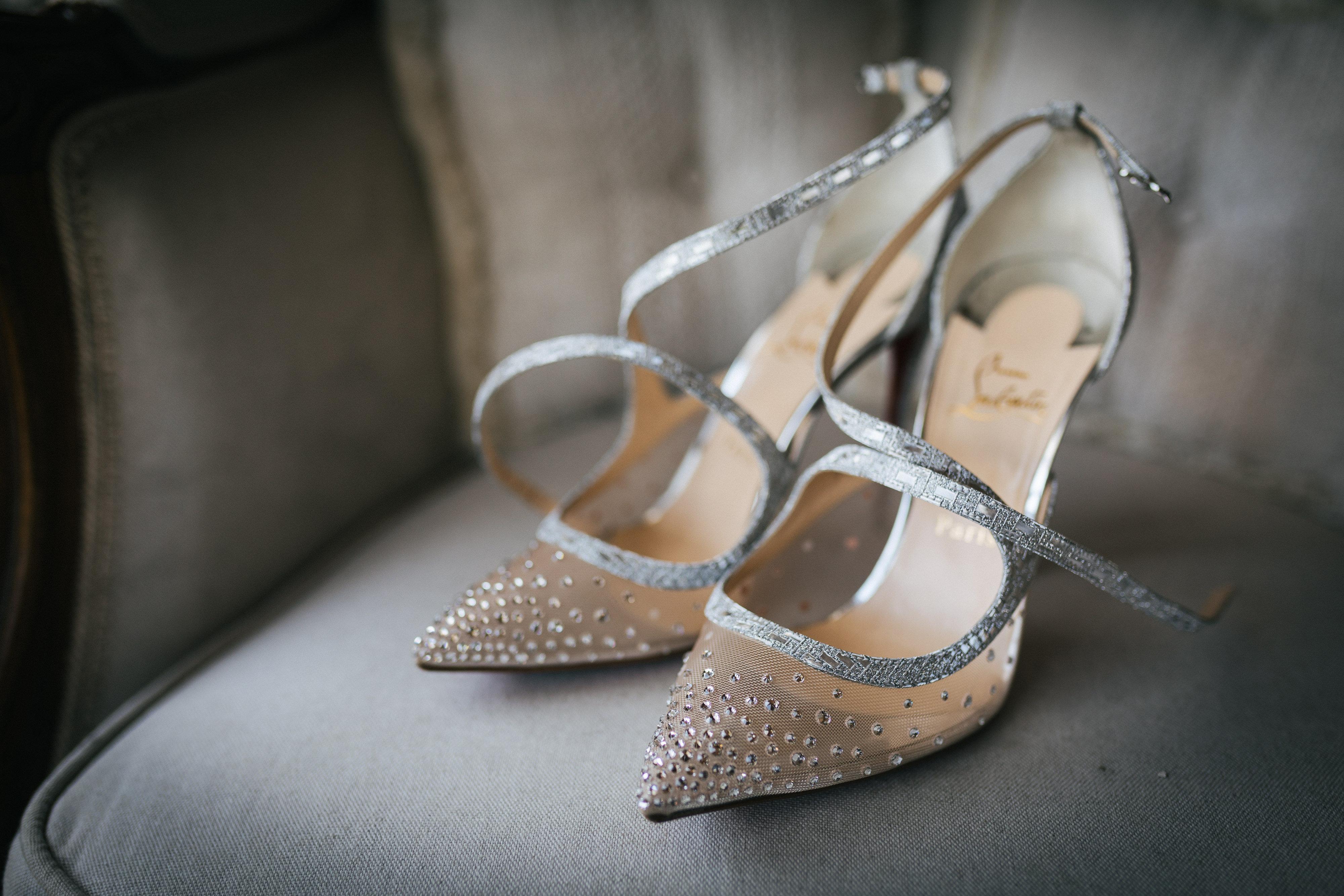 Wedding Shoes at Villa Le Fontanelle