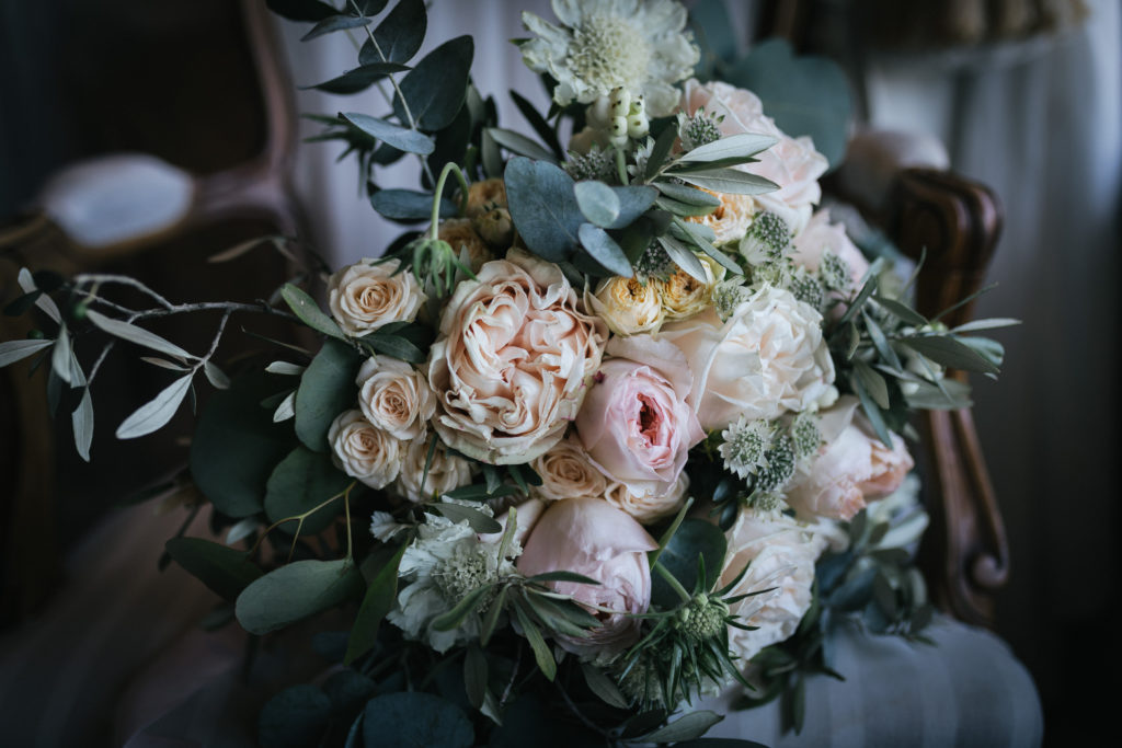 Bridal Bouquet by Flowers Living - Wedding at Villa Le Fontanelle - Italian Wedding Designer